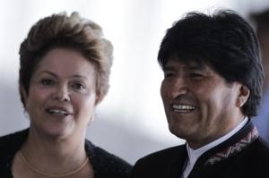 Evo y Dilma