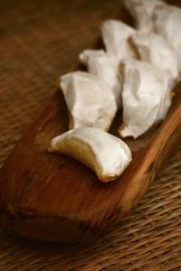 Empanadillas de dulce de cayote