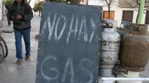No hay gas
